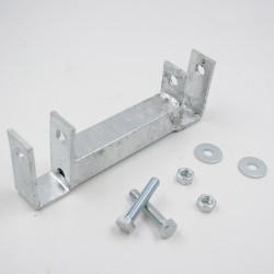 Support de toiture chenil pour barre 25x25mm