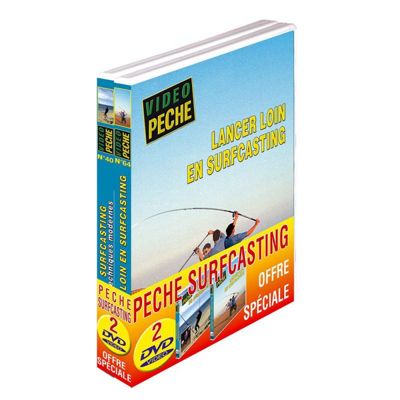 Lot 2 DVD: pêche en surfcasting