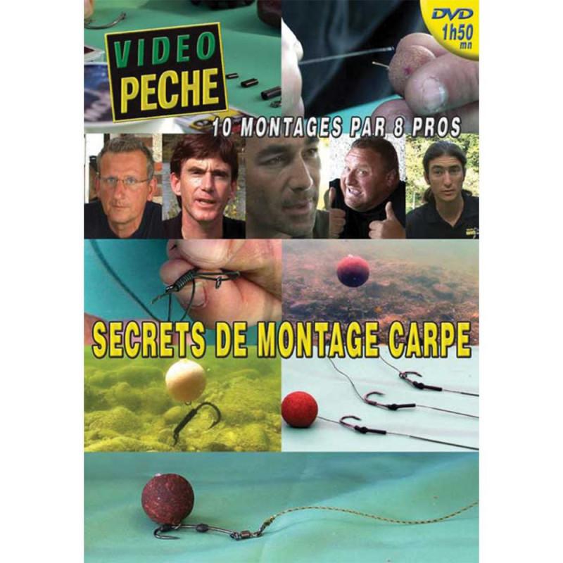 DVD : Secrets de montage carpe