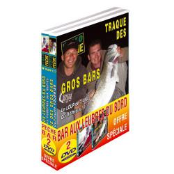 Lot 2 DVD: Pêche du bar du bord