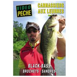 DVD : Carnassiers aux leurres : Black bass, brochets, sandre