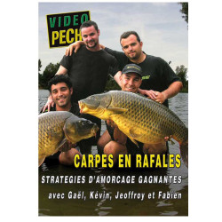 DVD : Carpes en rafales : Stratégies d'amorçage gagnantes