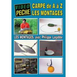 DVD : La carpe de A à Z : les montages