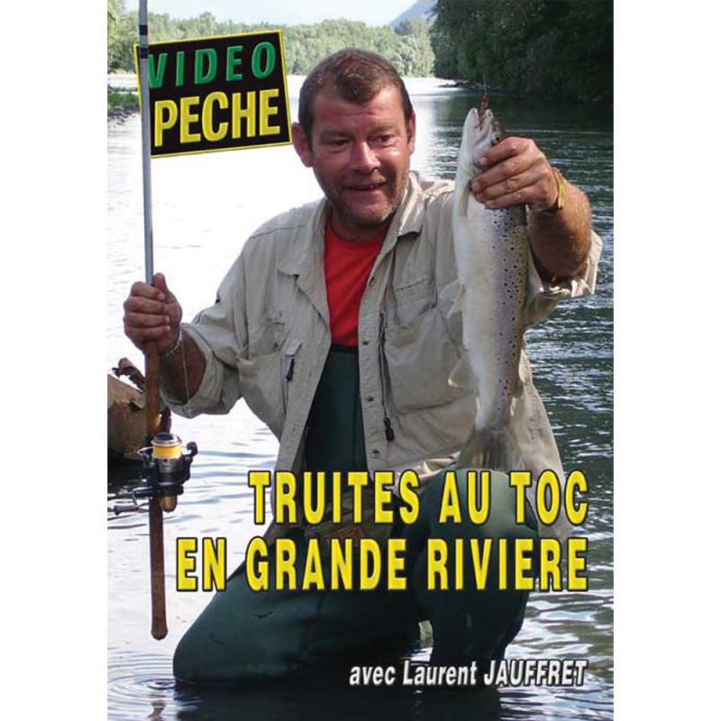 DVD : Truites au toc en grande rivière