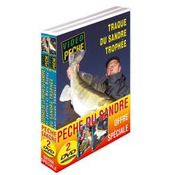 Lot 2 DVD: pêche du sandre