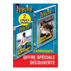 Lot de 2 DVD : Pêche des carnassiers 2