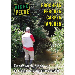 DVD : Brochets,perches,carpes,tanches