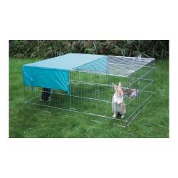 Grande cage à pâturer + protection solaire