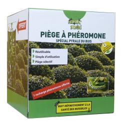 Piège à phéromones Pyrale du buis + recharge